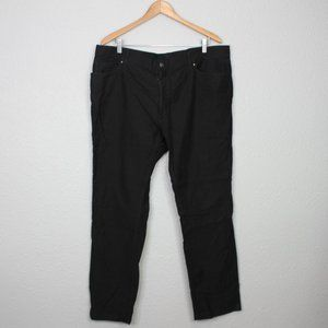 Ralph Lauren Black Slim Straight Pants sz 40/32
